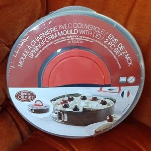 Springform pan with lid , 2 PC set